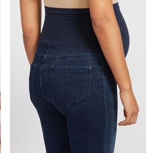 Indigo Blue Secret Fit Maternity Jeans Petite Med